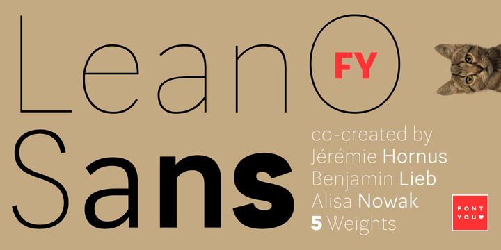 Lean-O Sans FY