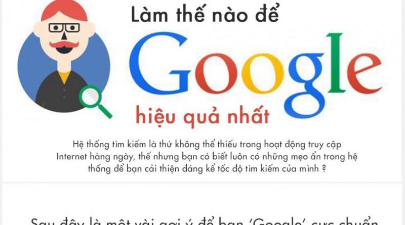 """Làm thế nào để """"Google"""""""