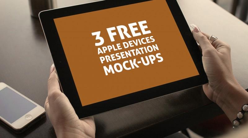 Free Presentation Mock-ups
