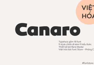 Việt hóa | FS Canaro: Một chút geometrical từ Rene Bieder