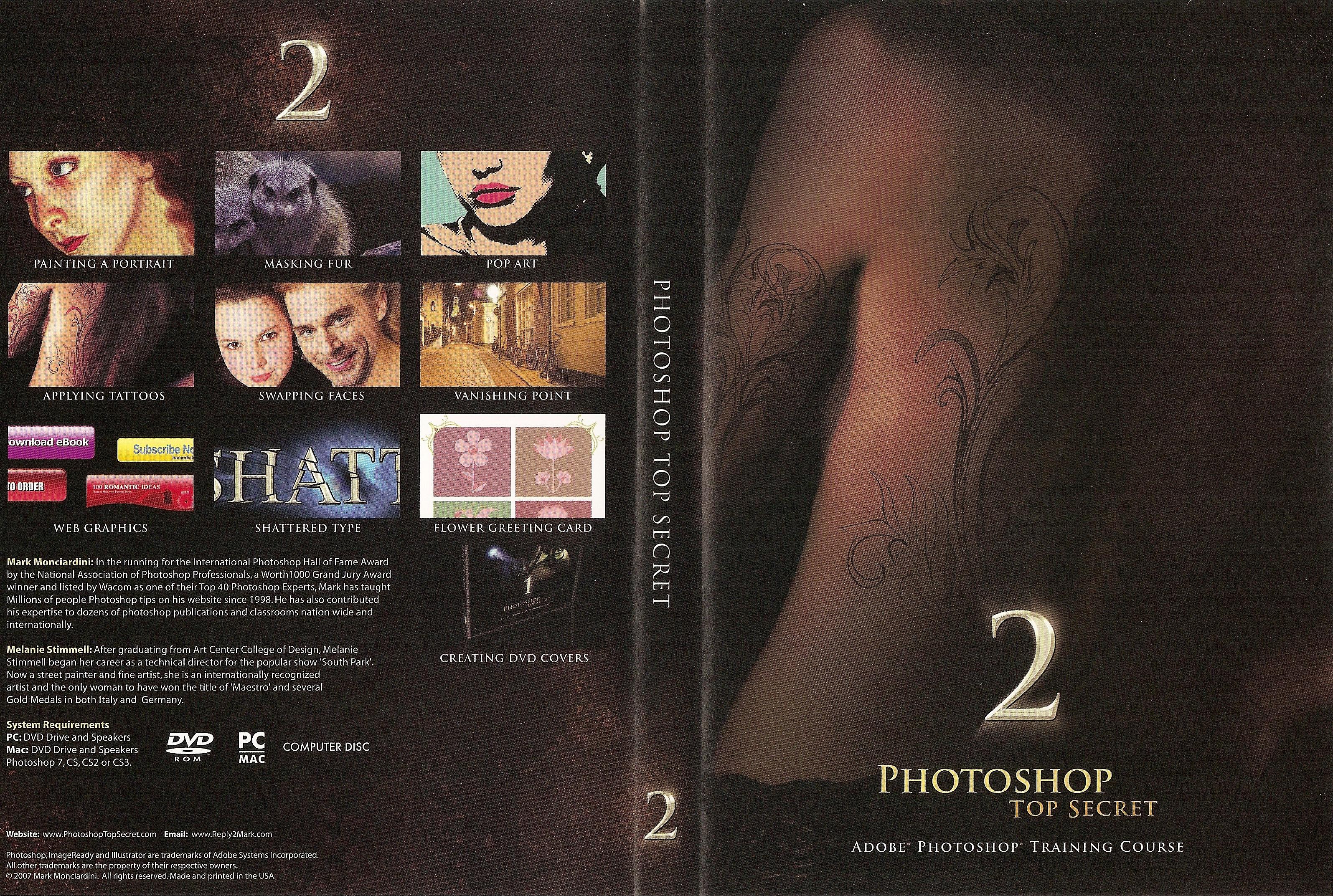 photoshop top secret_DVD2_Cover
