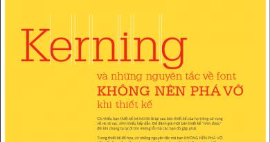 [Ebook] Kerning & những nguyên tắc về font không nên phá vỡ khi thiết kế (nguyentruongrtc)