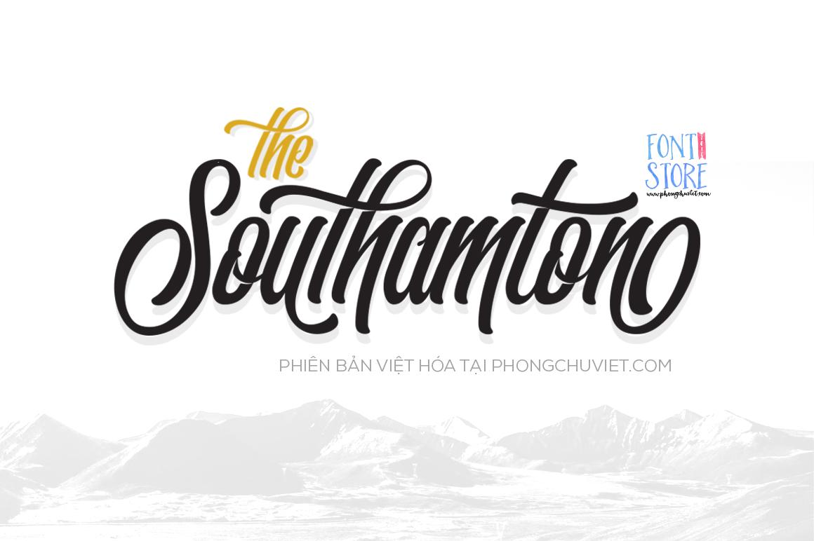 southamton việt hóa