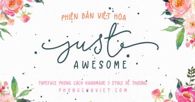 Việt hóa | FS Just Awesome: Điều tuyệt vời từ SalomeNJ