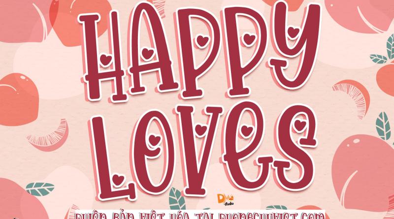 FS Happy Loves: Trái tim nhỏ nằm trong con chữ lớn
