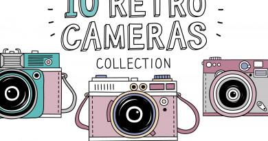 nekoshki | 10 Retro photo cameras ~ $8