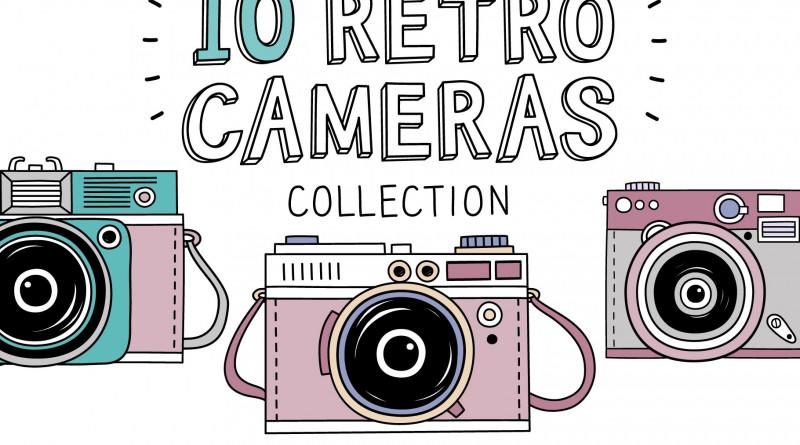 10 Retro photo cameras