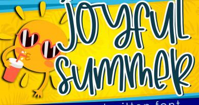 Dm Studio | Joyfull Summer – Handwritten Font ~ $19