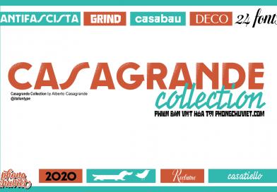 Việt hóa | Casagrande Collection: Bộ font vintage đầy màu sắc!