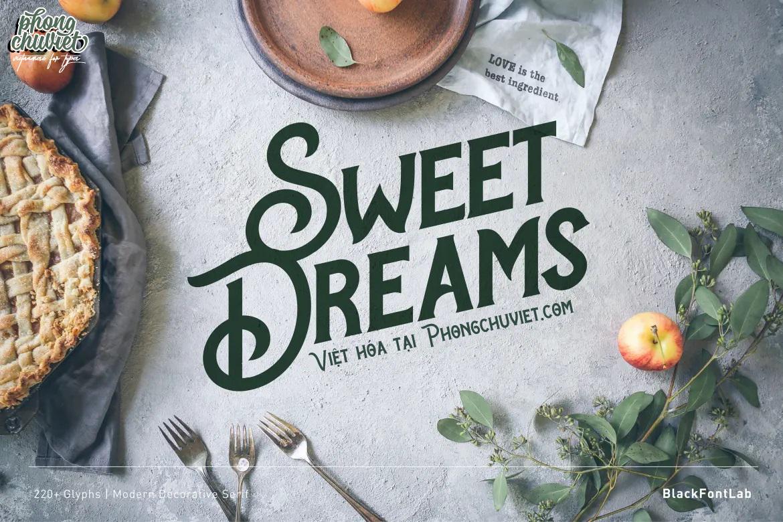 Việt hóa | FS Sweet Dreams: Serif thích hợp cho bìa sách