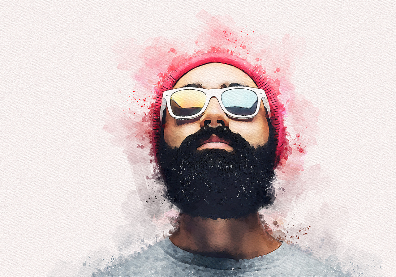 ridvanpars | Vivid Paint - Watercolor Photoshop Action ~ $6