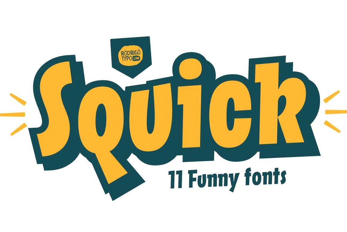 Rodrigo Typo | Squick / All Family ~ $120