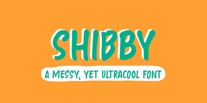 Hanoded   Shibby ~ $25