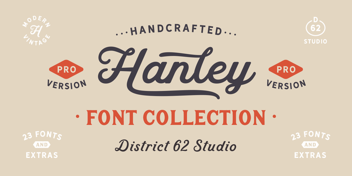 District 62 Studio | Hanley Pro ~ $99