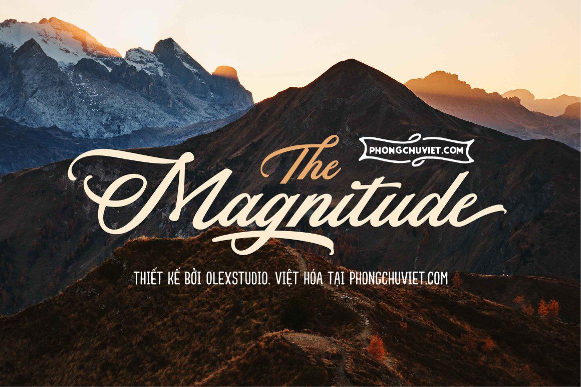 Việt hóa | FS The Magnitude Script: Nét viết tay rực rỡ xinh đẹp