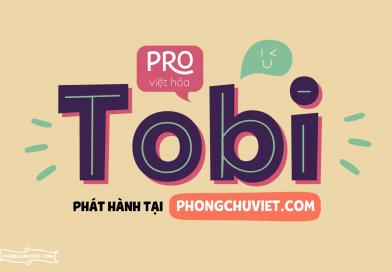 Việt hóa | FS Tobi Pro: Sans serif phong cách Geometric dễ thương