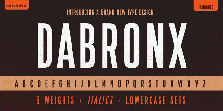 Good Gravy Type Co | Da Bronx Sans (12 fonts) ~ $30