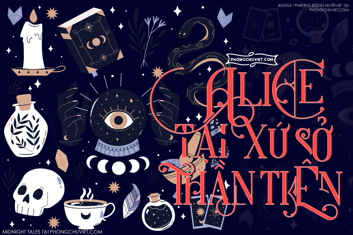Việt hóa | FS Midnight Tales: Một sắc màu huyền bí