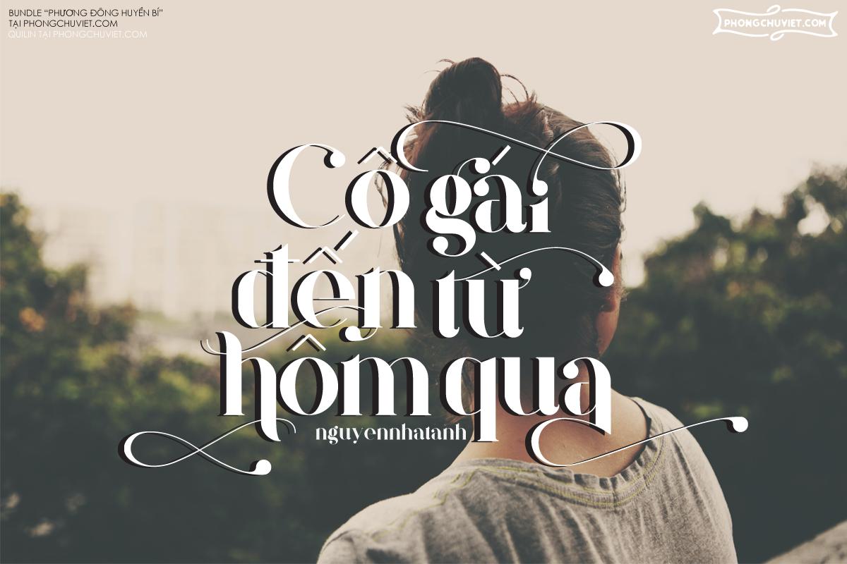 Việt hóa | FS Quilin: Serif sang trọng đa ngôn ngữ